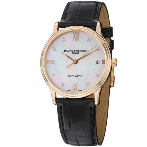 baume-and-mercier-classima-mother-of-pearl-diamond-dial-ladies-watch-m0a10077