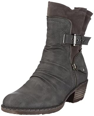 Rieker Women's 93761-01 Boots: Rieker: Amazon.co.uk: Shoes ...