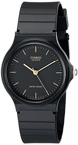 Casio Men's MQ24-1E Black Resin Watch - Casio
