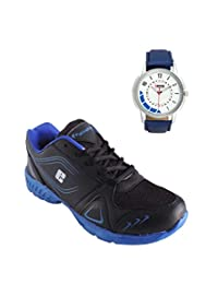 Elligator Sports Shoes With Lotto Blue Watch - B00WSAANAW