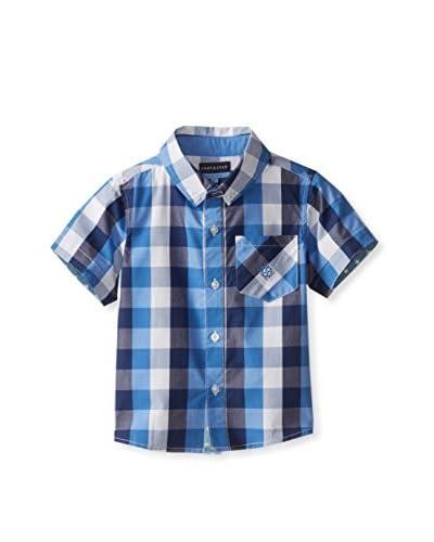 Andy & Evan Boy's Lil' Drummer Boy Buffalo Check Shirt