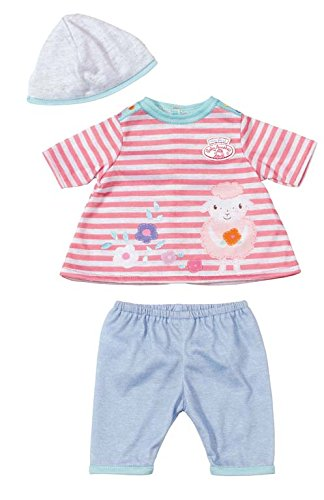 794746 - my first Baby Annabell Spiel OutFit easy Fit  Gestreiftes Shirt  blaue Hose
