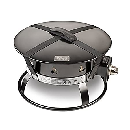 This Portable Fire Pit Boasts A Compact Design That Is Propane Fueled To  Provide Ease Of Use Anywhere You Want To Take It. It Produces A Smokeless  Flame And ...