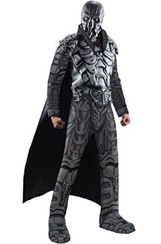 8eighteen Man of Steel Deluxe General Zod Adult Halloween Costume (Deluxe General Zod Child Costume)