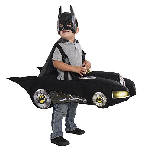 Rubie's Batmobile Batman Costume, Black, Toddler