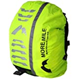 More Mile High Viz Waterproof Backpack Rucksack Bag Cover for Cycling or Running MM1394