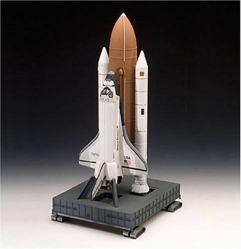 Space Shuttle Discovery & Booster Rockets 1:144 scale  ドイツ レベル社 プラモデル