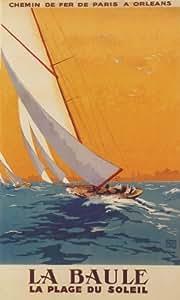 paris orleans sailboat sail boat la baule la plage du soleil france french french. Black Bedroom Furniture Sets. Home Design Ideas