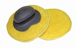 "Carrand 40123 The Gripper Microfiber 5"" Round Applicator Pad"