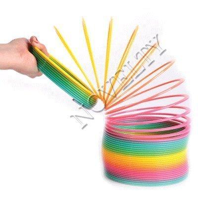 Magic Spring - 6 inch, Plastic, Rainbow