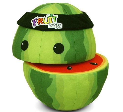 Fruit Ninja Mini Plush Watermelon Toy Doll-christmas