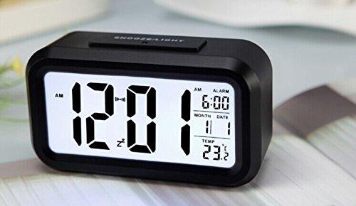 Soondar LCD Digital Screen Alarm Clock Multi