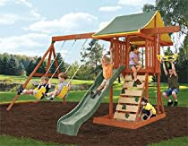 Big Sale Best Cheap Deals Meadowvale Wooden Swing Set