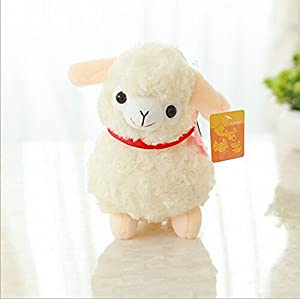 Alpaca Sheep Plush Toy Cream Arpakasso Llama Doll Stuffed Animal