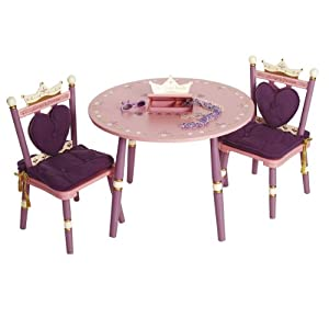 Levels Of Discovery Princess Childs Table And Two Chair Set by Levels of Discovery