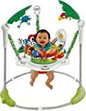 Ideal Fisher-Price Rainforest Jumperoo Baby Bouncer - Cleva® Bundle Edition