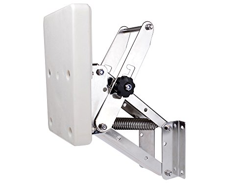 TMS Outboard Motor Mount Bracket Mounting Board Trolling Auxiliary Boat Engine (Auxiliary Outboard Bracket compare prices)
