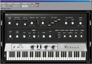 Digidesign Velvet - Digidesign'S Electric Piano Virtual Instrument For Pro Tools