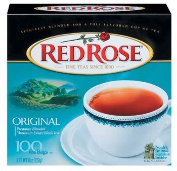 Red Rose Original Premium Blended Tea 100 ct