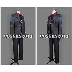 COSSKY2013【送料無料】蒼き鋼のアルペジオ 主人公 千早群像 コスプレ衣装 XS-XXLサイズ (男性XL)
