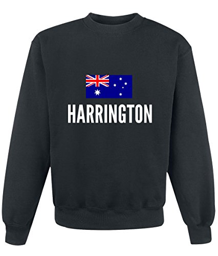 Felpa Harrington city Black