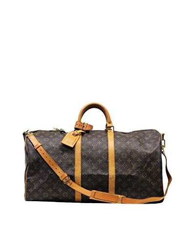 Louis Vuitton Monogram Keepall Bandoulière 50, Brown