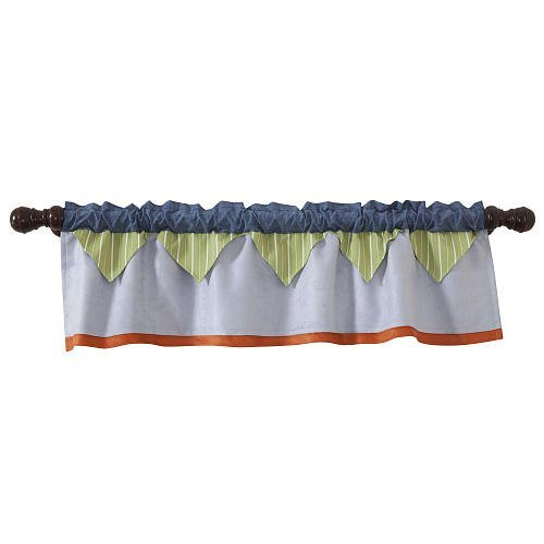 Lambs & Ivy Bow Wow Window Valance front-1058940