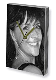 AMANDA TAPPING - Canvas Clock (LARGE A3 - Signed by the Artist) #js014