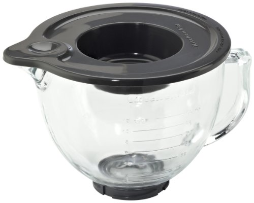 Kitchenaid 4 8 Litre Glass Bowl For Kitchenaid Mixer At