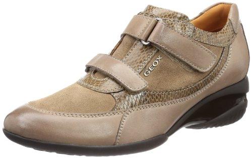 Geox D ADA E Low Top Womens Brown Braun (TAUPE C6029) Size: 7 (41 EU)
