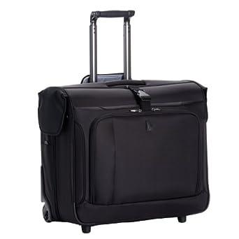 Delsey Luggage Helium Breeze 3.0 Lightweight 2 Wheel Rolling Garment Bag, Black, 45 Inch