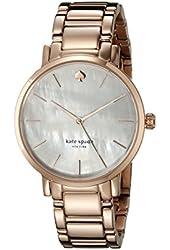kate spade new york Women's 1YRU0003 Rose Gramercy Watch