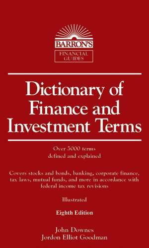 Dictionary of Finance and Investment Terms