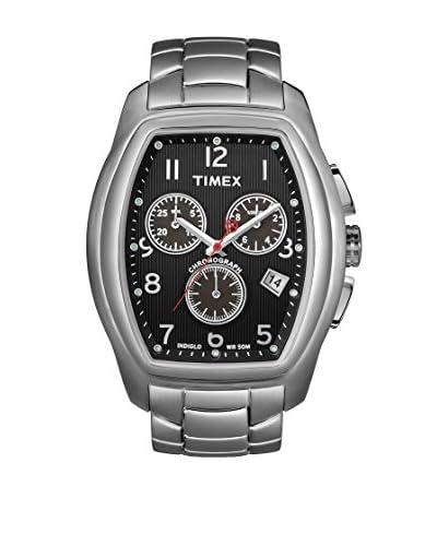 Timex Orologio al Quarzo T-Series Argentato 40  mm