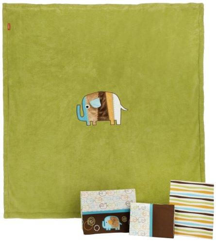 Imagen de Zutano Elefantes Niño 4 Piece Bedding Set
