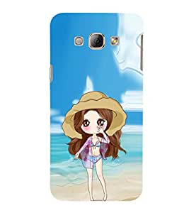 EPICCASE sexy doll Mobile Back Case Cover For Samsung Galaxy A7 (Designer Case)