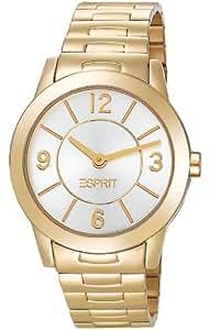 Esprit Damen-Armbanduhr Heron Gold Analog Quarz Edelstahl ES104342006