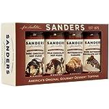 Sanders Sundae Best Assorted Dessert Toppings 4 Pack Gift Box