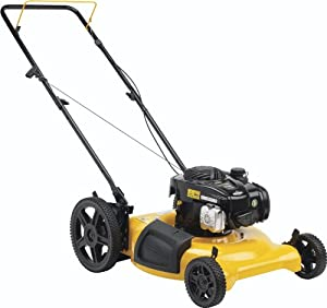 Poulan Pro PR500N21SH High-Wheel Side Discharge/Mulch Push Mower, 21-Inch by Husqvarna Wheeled
