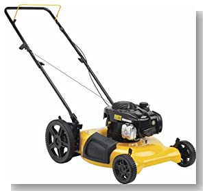 Poulan Pro PR500N21SH High-Wheel Side Discharge/Mulch Push Mower, 21-Inch