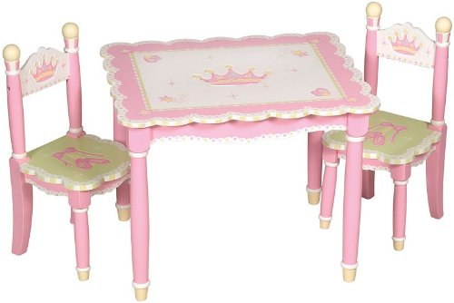 Guidecraft Hardwood Lambs and Ivy Swan Lake Table and Chairs Set