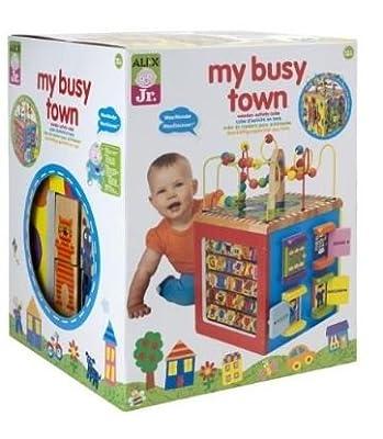 Alex Toys - Alex Jr My Busy Town -baby Wooden Developmental Toy 4w from Alex