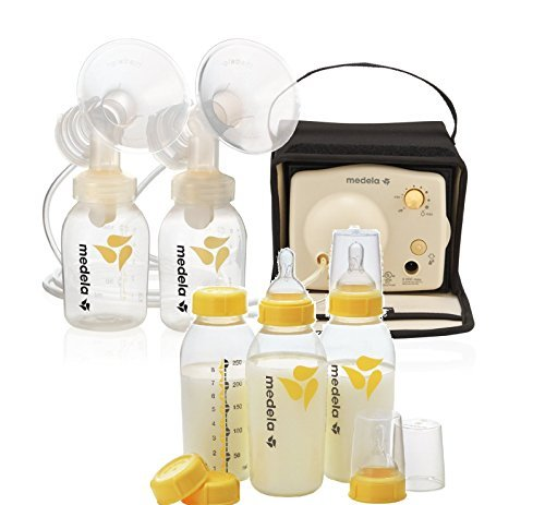 Medela Pump In Style Advanced Breastpump Starter Set-Model # 57081 with 3 extra Bottles set