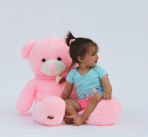 Joyfay-Giant-39-Pink-Teddy-Bear