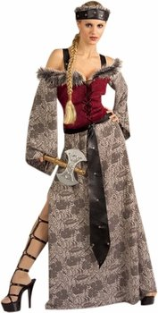 Adult Barbarian Queen Costume (Size: Standard 6-14)
