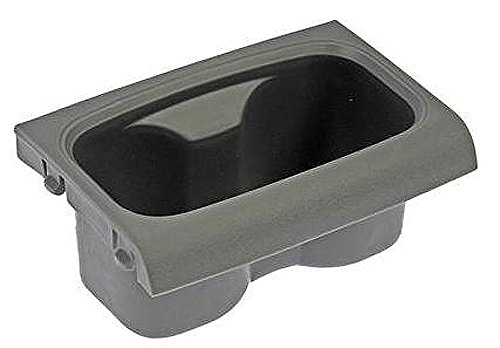 APDTY 52117 Cup Holder Replacement Front Center Console Mounted 1JC93BD5AA Grey (2010 Dodge Caravan Center Console compare prices)