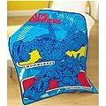 Childrens/Kids Boys Transformers Fleece Blanket/Bed Throw