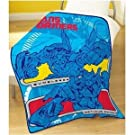 Childrens/Kids Boys Transformers Fleece Blanket/Bed Throw