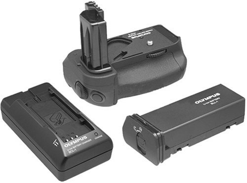 Olympus SHLD-2 Power Battery Holder Set Includes HLD-2BLL-01  BCL-01B0000DZS4I : image