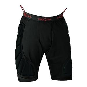 Pro-tec Men's Hip Pad, Black, Small
